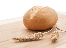 Wheat bread roll Royalty Free Stock Photography
