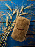 Wheat and bread Stock Image