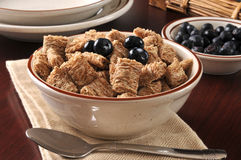 Wheat breakfast cereal Royalty Free Stock Images