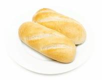 Wheat bun Stock Images