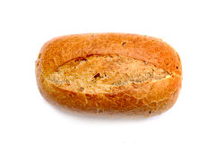 Wheat Bun Stock Photo