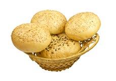 Wheat bun with sesame Royalty Free Stock Image