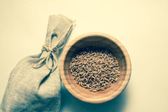 Wheat bundle and cereals Royalty Free Stock Photography