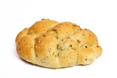Wheat buns isolated on white Royalty Free Stock Photos
