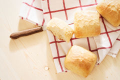 Wheat buns from top Royalty Free Stock Photo