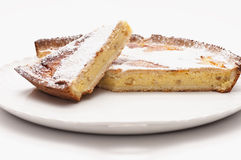 Wheat cake. Wheat pizza - cake typical of the Italian tradition of the Easter period royalty free stock photos