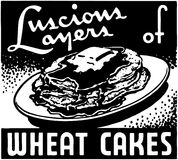 Wheat Cakes Royalty Free Stock Images