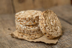 Wheat Cakes. Unleavened bread Stock Photo