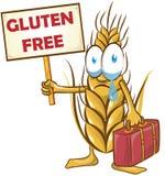 Wheat cartoon Royalty Free Stock Photos