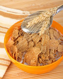 Wheat Cereal Flakes Royalty Free Stock Photos