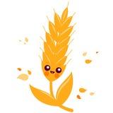 Wheat character Royalty Free Stock Photo