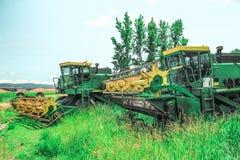 Wheat Combines Stock Photos