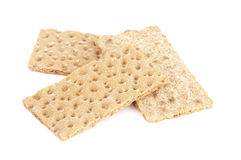 Wheat Cracker Breads Stock Image