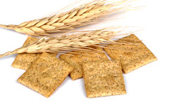 Wheat Crackers Royalty Free Stock Image