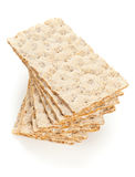Wheat crispbread slices Royalty Free Stock Image
