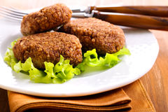 Wheat croquettes Stock Image