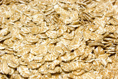 Wheat dry flakes royalty free stock images