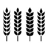 Wheat ear icon Royalty Free Stock Photography