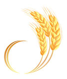 Wheat ears icon Stock Photo