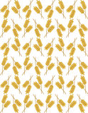 Wheat ears seamless background Stock Images