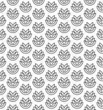 Wheat ears seamless pattern Stock Image
