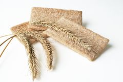Wheat Ers And Diet Bread Royalty Free Stock Photos