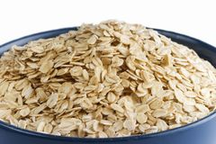 Wheat flakes Stock Photography