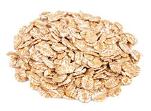 Wheat flakes Royalty Free Stock Image