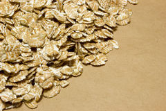 Wheat flakes stock images