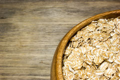 Wheat flakes royalty free stock photography