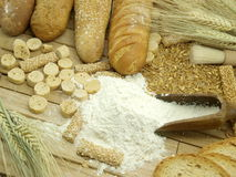Wheat and flour Stock Photos