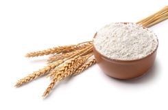 Wheat flour Stock Images