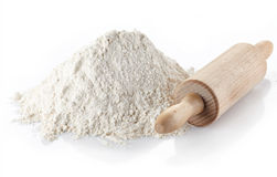 Wheat flour Royalty Free Stock Photo