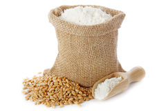 Wheat flour Stock Photos