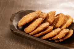 Wheat Flour Sweet Mathri  Atta ki Meethi Mathri Royalty Free Stock Images