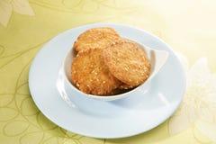 Wheat Flour Sweet Mathri  Atta ki Meethi Mathri Royalty Free Stock Photos