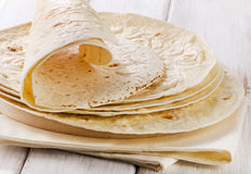 Wheat Flour Tortillas Stock Images