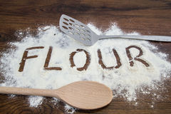 Wheat flour Stock Photography