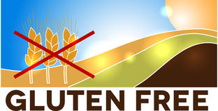 Wheat free- gluten free Stock Photos