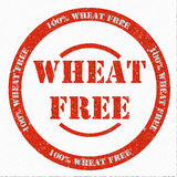 Wheat Free Stamp. Digitally created 100% Wheat Free Rubber Stamp Royalty Free Stock Photography