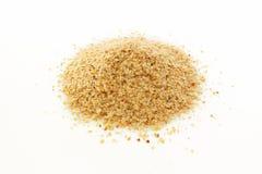 Wheat germ. On white background Royalty Free Stock Photos