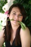 Wheat girl Stock Photo