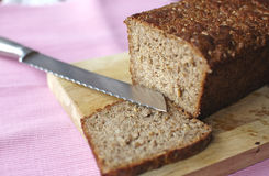 Wheat grain german bread Royalty Free Stock Photography