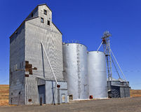 Wheat Granary Storage Palouse Washington State Royalty Free Stock Images