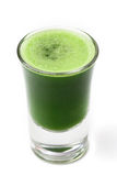 Wheat grass juice Royalty Free Stock Images