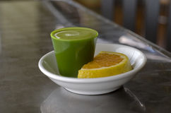 Wheat Grass Shot Stock Image