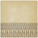 Wheat harvest old background. Vector illustration. eps 10 Royalty Free Stock Photos