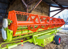Wheat Harvester III Royalty Free Stock Photos