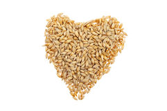 Wheat heart Royalty Free Stock Photography