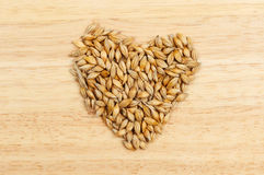 Wheat heart Royalty Free Stock Image